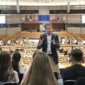 Wo Geschichte geschrieben wird – mit der 9a nach Brüssel