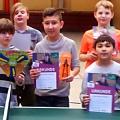 Auch diesmal wieder ganz groß – Tischtennis-Minimeisterschaften