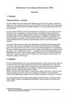 Schulinterner Lehrplan 8