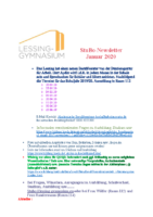 Stubo Newsletter Januar 20