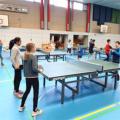 Ganz groß: Die Minimeister im Tischtennis