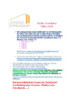 Stubo Newsletter März 20