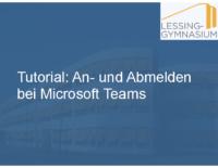 2021-01-20 Tutorial – An- und Abmelden bei Microsoft Teams