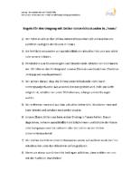 Regeln für den online Unterricht 09.01.21