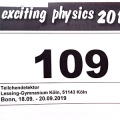 Exciting Physics and Excited Lessing!